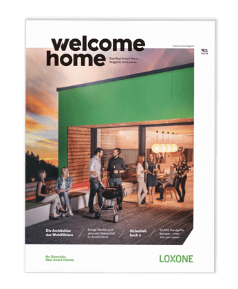 Loxone Welcome Home Magazine 2019